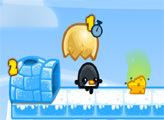 Игра Пингвины из яйца
