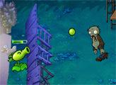 Игра Горох против Зомби