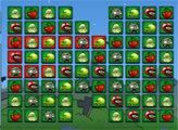 Игра Зомби против растений: Три в ряд