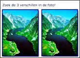Игра Zoek De 3 Verschillen in De Foto!