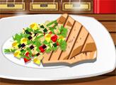 Игра Рыба-Меч С Овощами