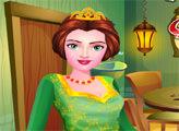 Игра Принцесса Фиона делает уборку