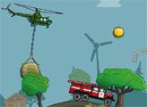 Игра Вертолет Кран