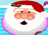 Игра Сливочный торт Санта