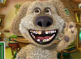 Игра Говорящий Бен у дантиста