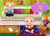 Игра Малышка Хейзел и младший братик