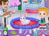 Игра Малышка Хейзел: Ветеринарная клиника