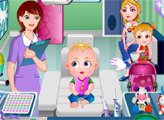 Игра Малышка Хейзел у стоматолога