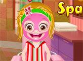 Игра Малышка Хейзел в Спа-салоне