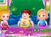 Игра Малышка Хейзел: День Святого Патрика