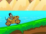 Игра Гангам Стайл Го Го Го 3: Асфальтоукладчик