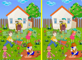 Игра Огородные отличия