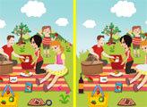 Игра Пикник - поиск отличий