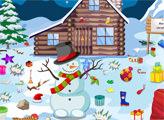 Игра Снеговик и уборка дворика