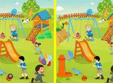 Игра Детская площадка и отличия