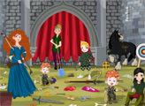 Игра Уборка с Принцессой Меридой