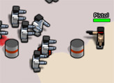 Игра Квадратная голова: 2 игровые комнаты