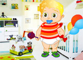 Игра Малыш Тимми одевается
