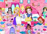 Игра Маленькие принцессы и уборка в доме