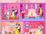 Игра Свадебный кукольный домик Белоснежки