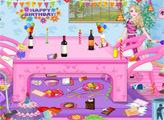 Игра Уборка после дня рождения Барби