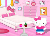 Игра Хелло Китти и декор комнаты