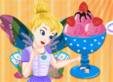 Игра Клубничное мороженое от Тинкер Белл