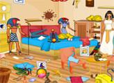 Игра Уборка комнаты Египетской Принцессы
