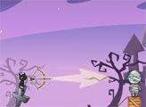 Игра Лучник против Зомби