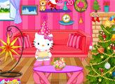 Игра Хелло Китти: Новогодние украшения