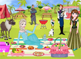 Игра Пикник Анны и Эльзы