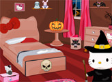 Игра Хелло Китти готовиться к Хэллоуину