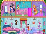 Игра Винкс клуб: Кукольный домик