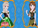 Игра Эльза и Анна готовятся к пикнику