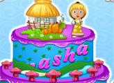 Игра Маша и Медведь: Большой торт