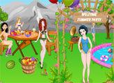 Игра Летняя вечеринка принцесс