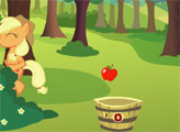 Игра Эпплджек собирает яблоки