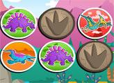 Игра Мемориана с динозаврами