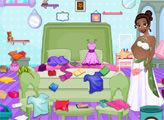 Игра Уборка комнаты беременной Тианы
