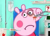 Игра Свинка Пеппа в скорой помощи