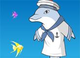 Игра Наряд для дельфина