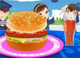 Игра Школьный гамбургер