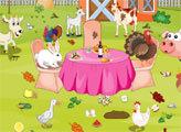 Игра Уборка фермы на День благодарения