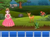 Игра Принцесса Пинки - побег из дикого леса