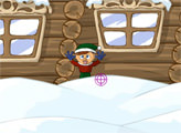Игра Рождественские снежки