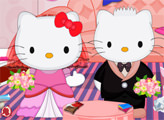 Игра Хелло Китти свадебная уборка