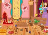 Игра Уборка и декор комнаты Рапунцель