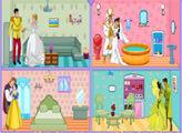 Игра Свадебный домик Принцесс