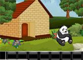 Игра Побег от голодной Панды