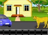 Игра Побег от Леопарда